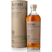 ARRAN 10 YO SINLE MALT SCOTCH WHISKY 46% 70CL TUUBIS