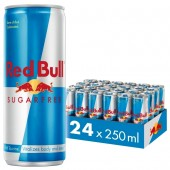 RED BULL Sugarfree 25CL x 24