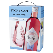 Stony Cape Syrah Rose 12% 300cl BIB