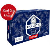 Hoggys Gin Long Drink Strong 7,5% 33CL prk x 24