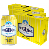 HARTWALL ORIGINAL LONG DRINK LEMON 5,5% 33CL prk x 72