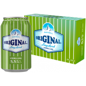 HARTWALL ORIGINAL LONGDRINK LIME 5,5% 33CL purk x 24