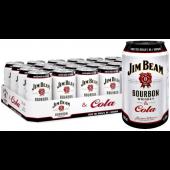 JIM BEAM & COLA 4,5% 33CL prk x 24